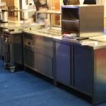 Výdaj stravy vomz- výroba nerezového nábytku